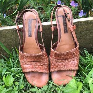 Vintage Leather Trotters